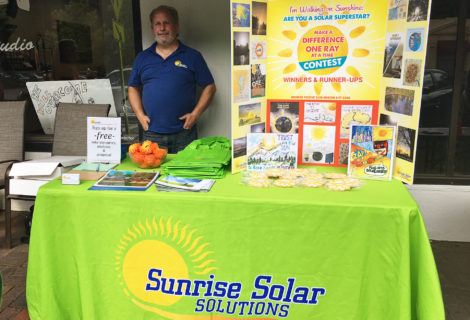 Solar Superstar Winners Receive Awards on Summer Solstice