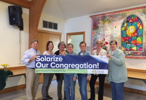 It's Official! Solarize Our Congregation Launches; Sunrise Solar Solutions is the Selected Solar Installer