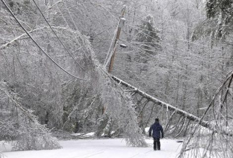 Nor'easter Leaves over 162K without Power, Eight Days Later and Counting: Sunrise Solar Solutions Has the Solution