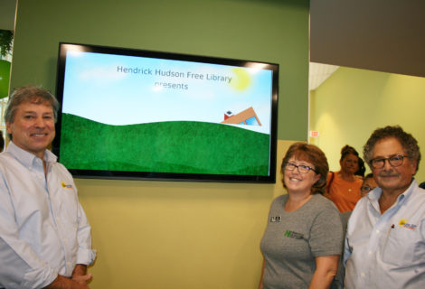 Our Ribbon-Cutting Photos for Sunrise Solar Installation at Hendrick Hudson Library